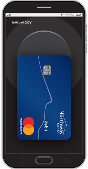 Image of Samsung Pay on Samsung device
