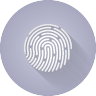 Image of thumbprint for TouchID icon