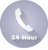 Image of phone representing 24-hour telephone banking