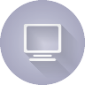 image of a computer monitor icon
